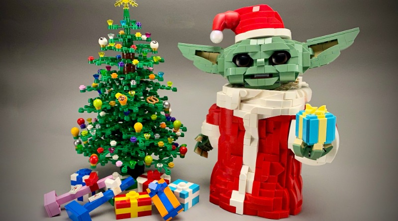 Brick Pic Of The Day Christmas Baby Yoda Featured