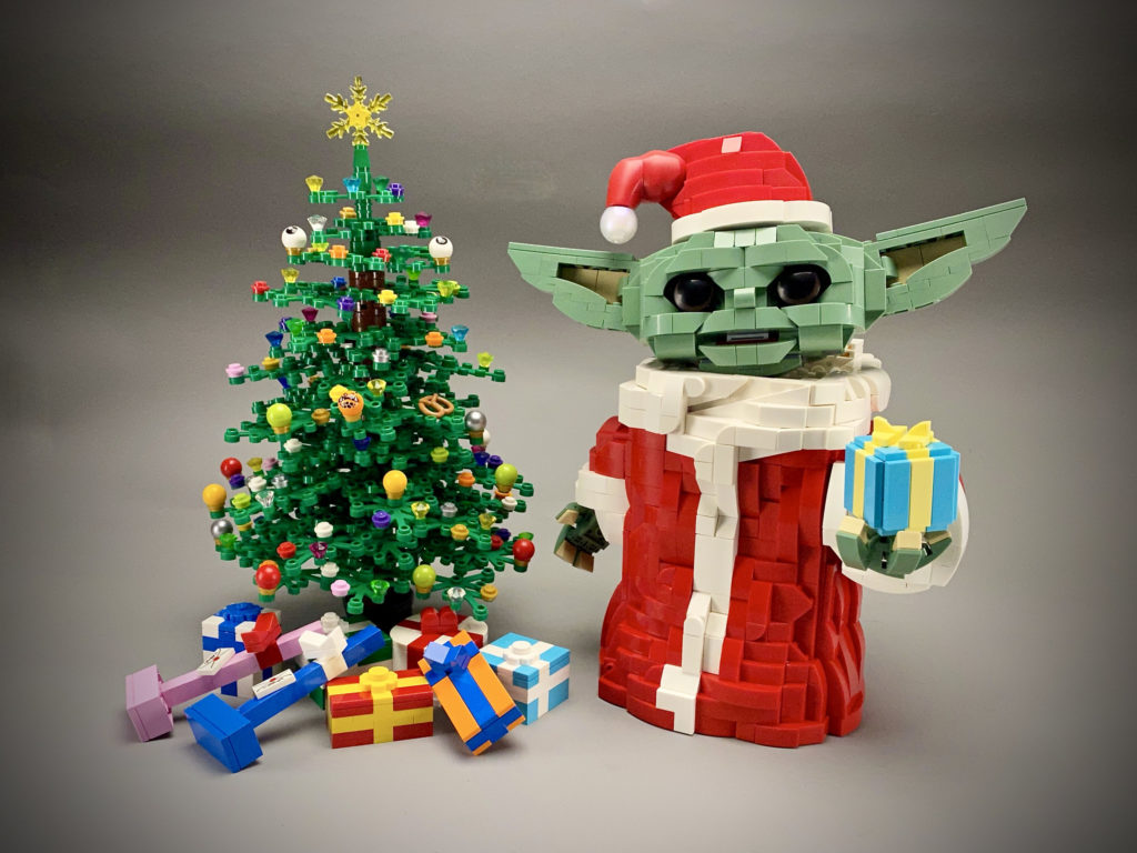 Brick Pic Of The Day Christmas Baby Yoda