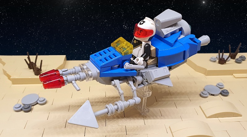 Brick Pic Of The Day Classic Space Speeder Bike Featured