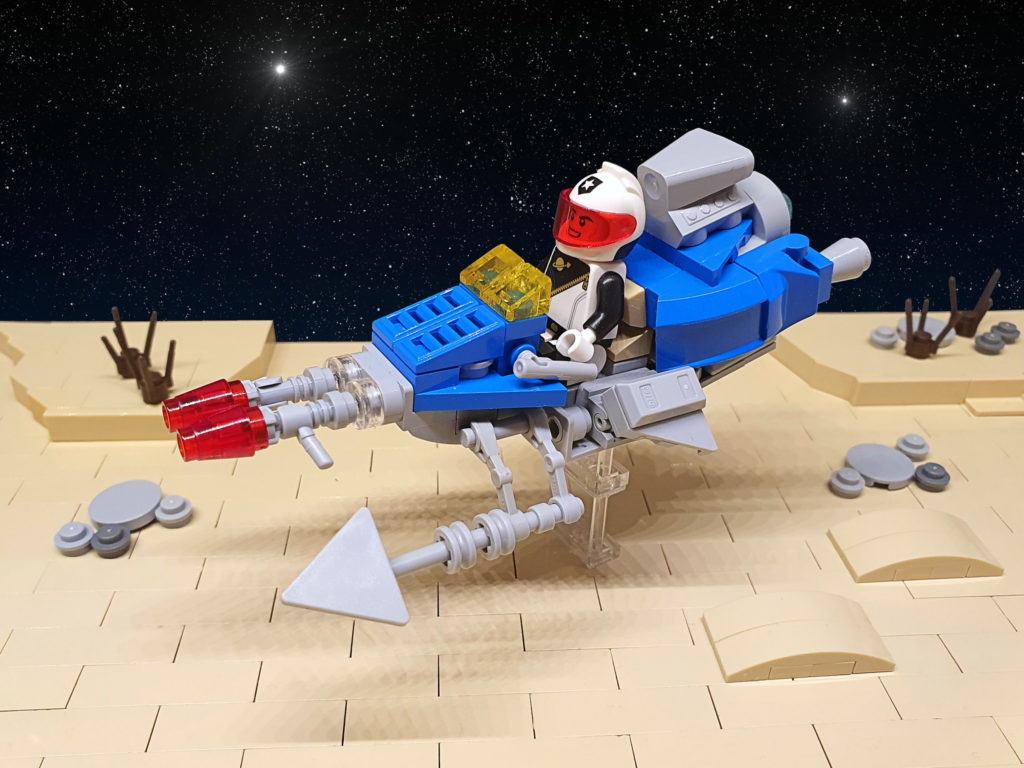 Brick Pic Of The Day Classic Space Speeder Bike