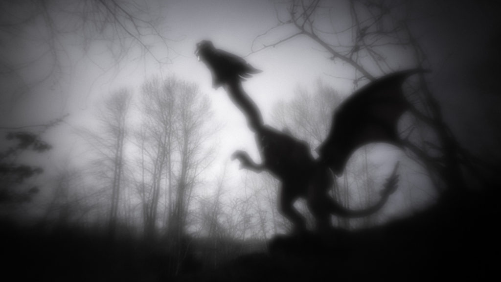 Brick Pic of the Day Dragon in the Mist