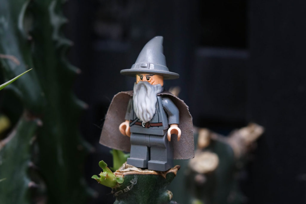Brick Pic of the Day Gandalf the Grey