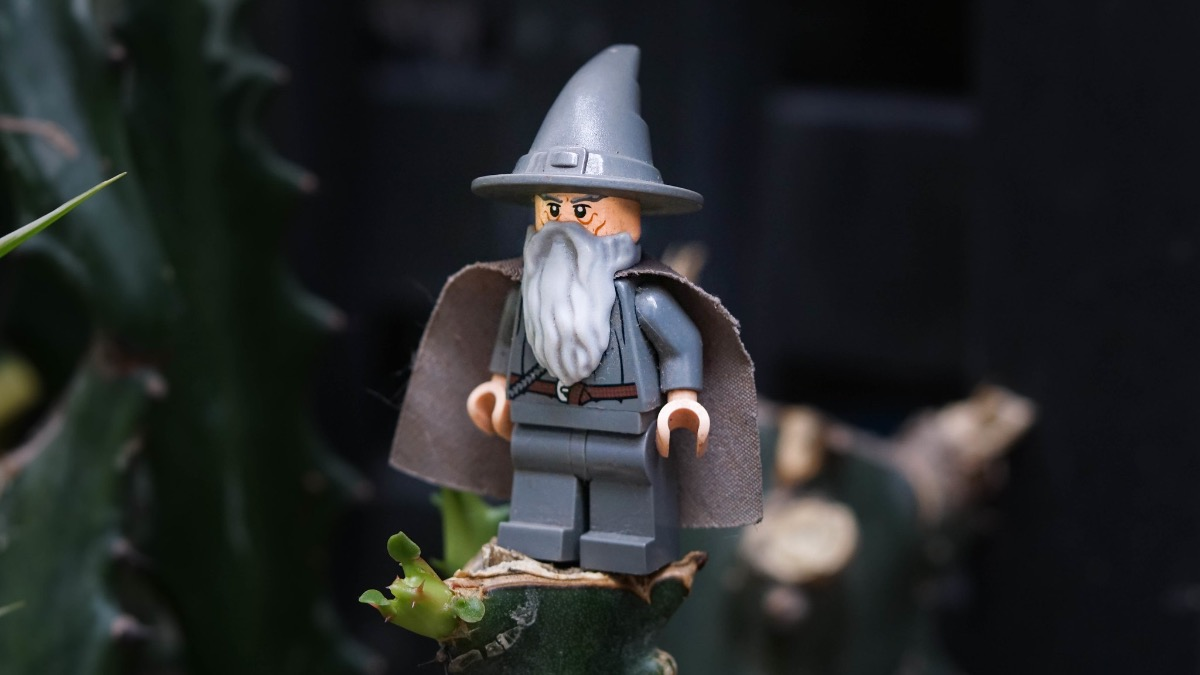 Brick Pic Of The Day Gandalf The Grey Featured