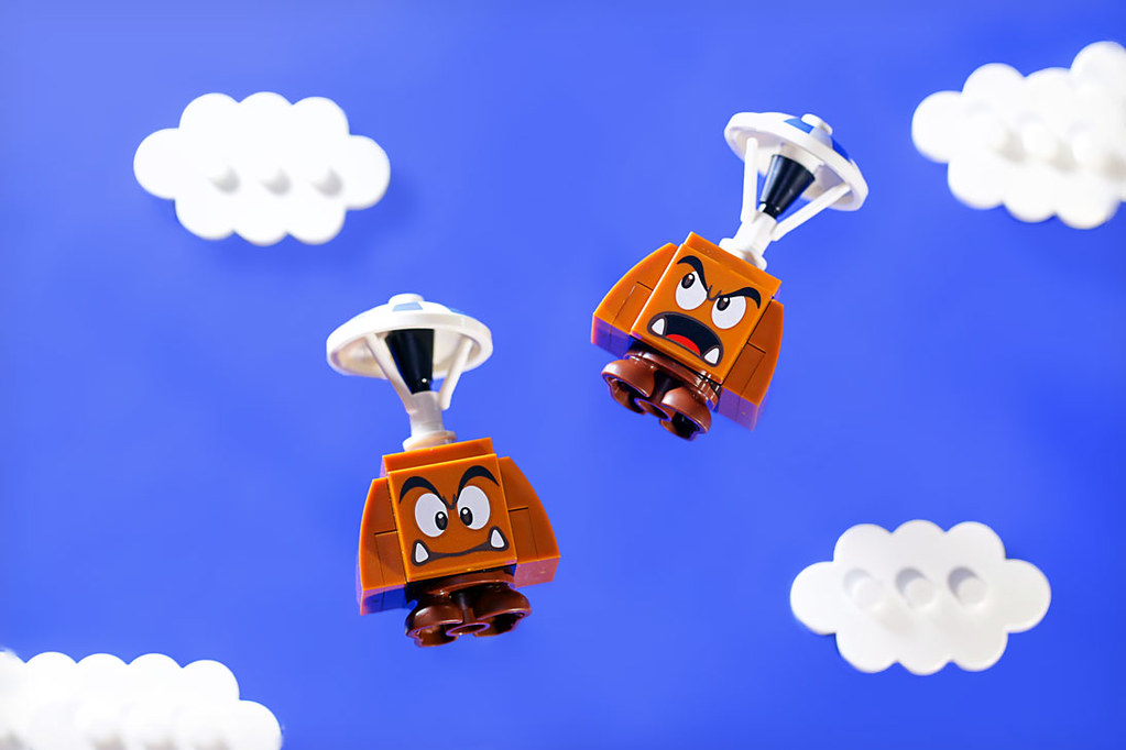 Brick Pic Of The Day Goomba Drop