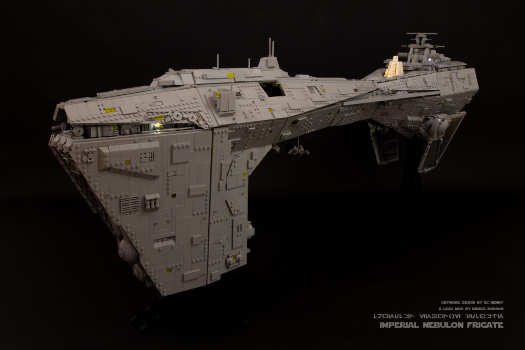 Brick Pic Of The Day Imperial Nebulon Frigate