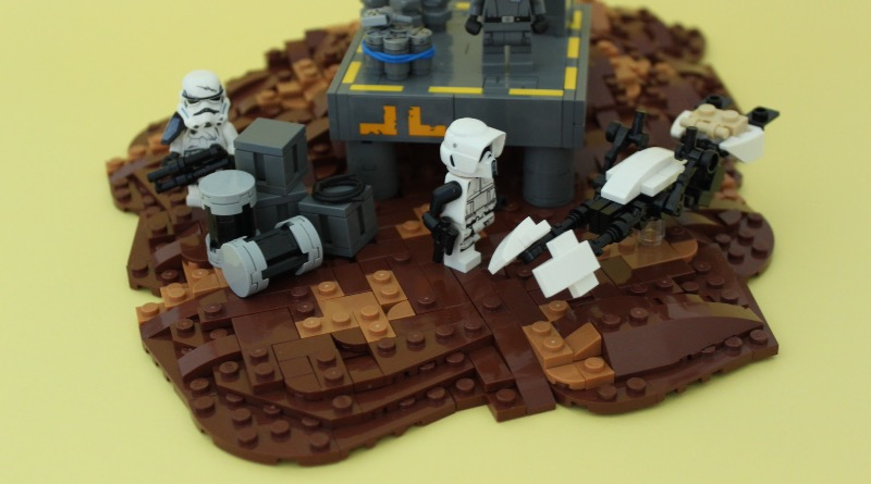 Brick Pic Of The Day Imperial Outpost Featured