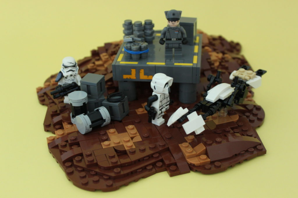 Brick Pic of the Day Imperial Outpost