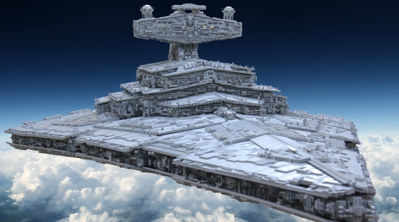 Brick Pic Of The Day LEGO Star Wars Star Destroyer Featured