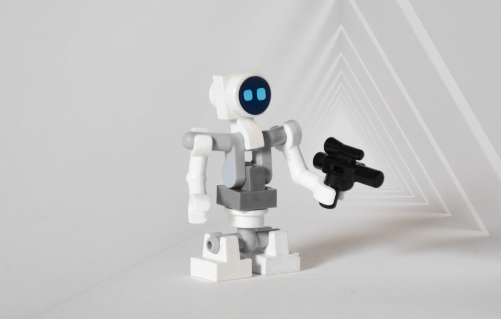 Brick Pic Of The Day Lit L Droid