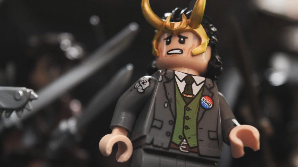 Brick Pic of the Day Loki