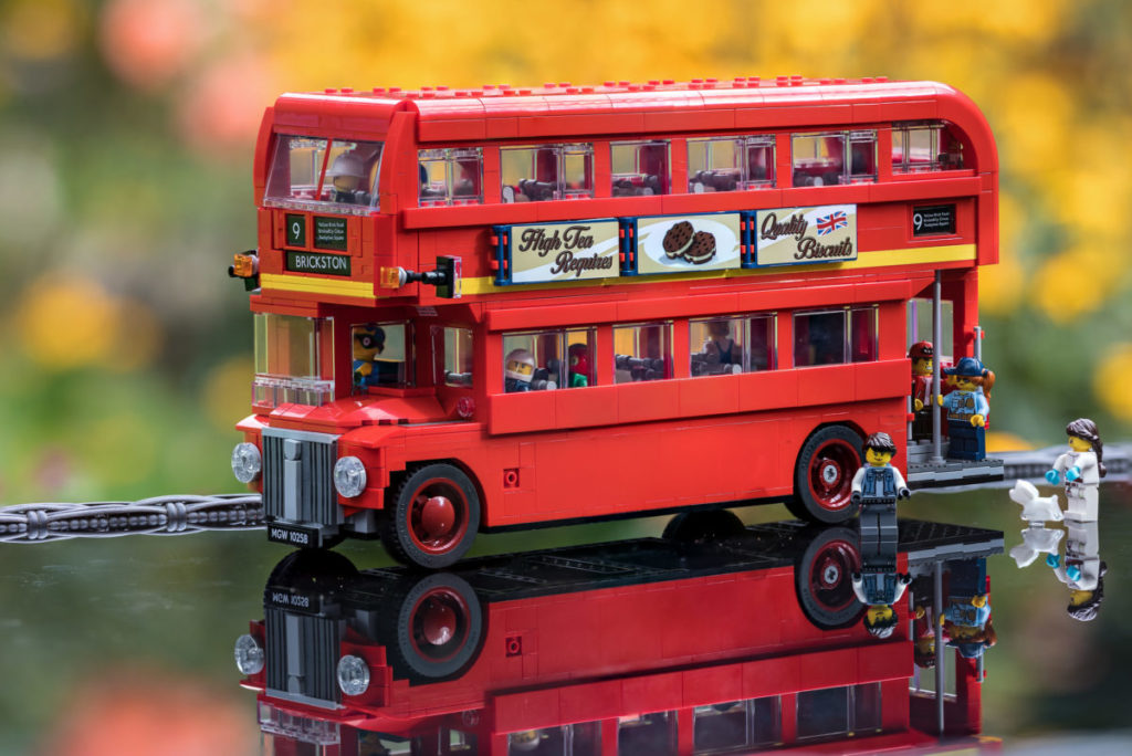 Brick Pic of the Day London Bus