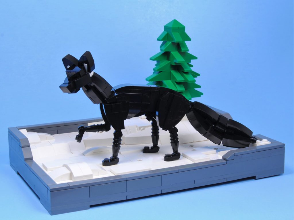 Brick Pic Of The Day Lone Wolf 1