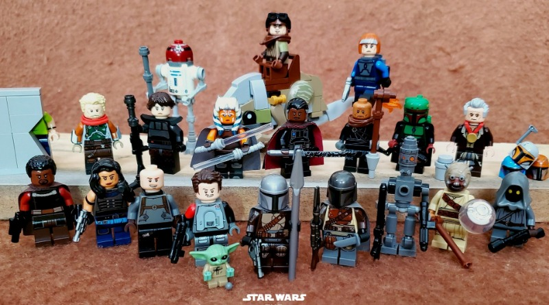 Brick Pic Of The Day Mandalorian Cast Featured