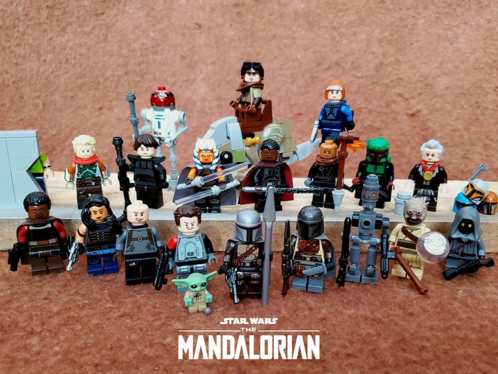 Brick Pic Of The Day Mandalorian Cast