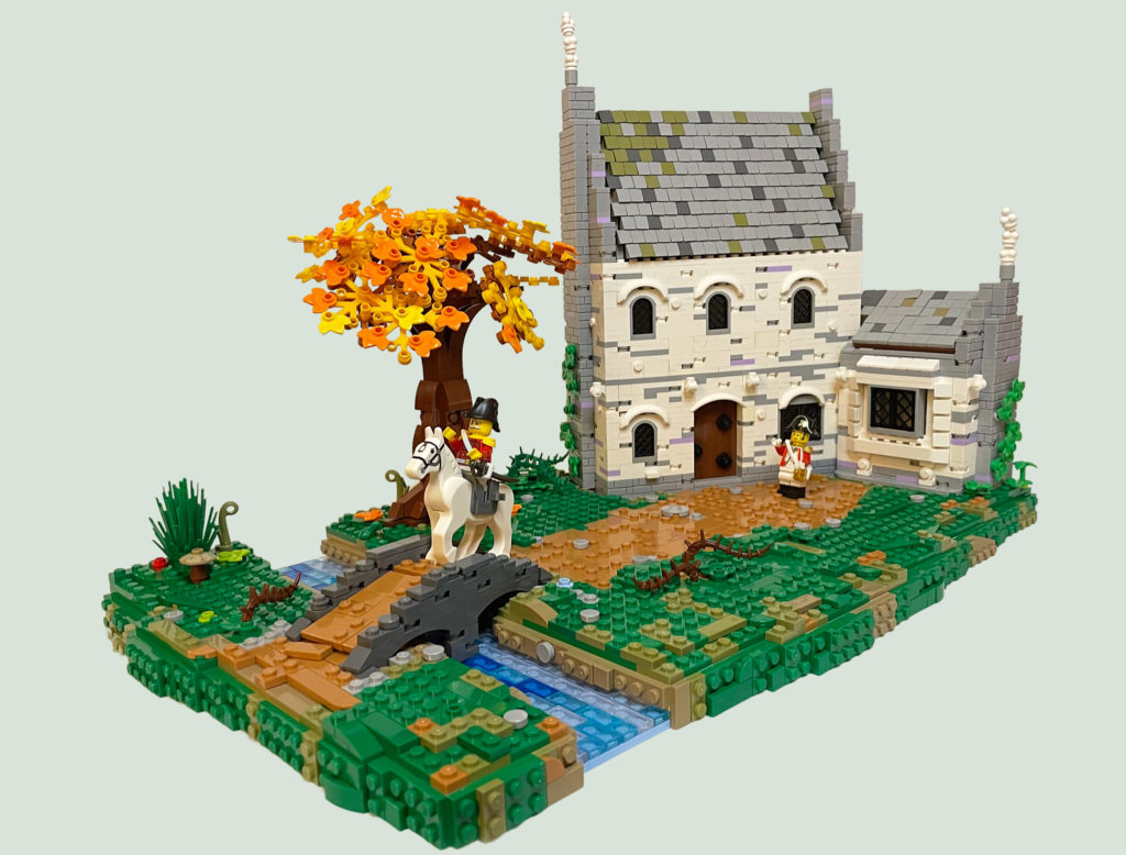 Brick Pic Of The Day Mayors House