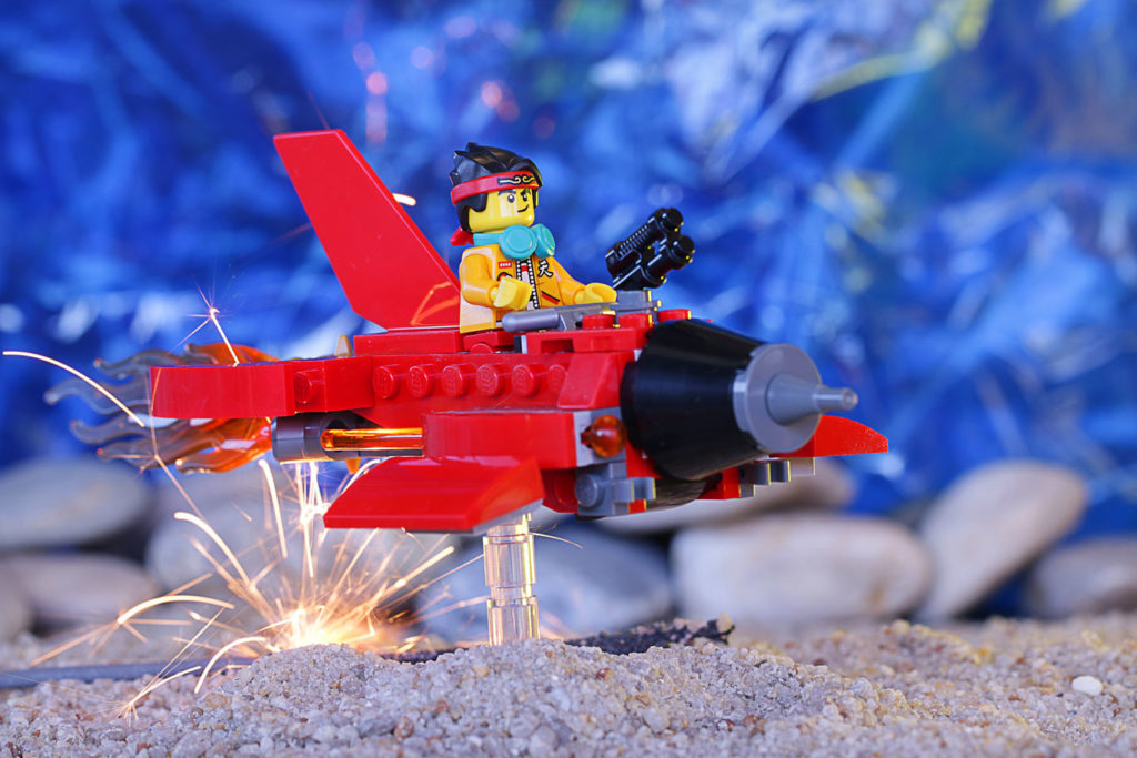 Brick Pic of the Day Monkie Plane