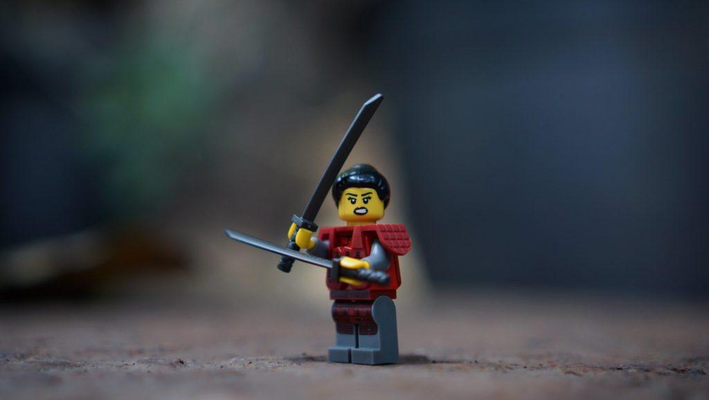 Brick Pic Of The Day Samurai