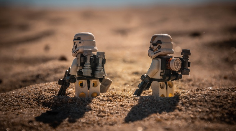 Brick Pic Of The Day Sandtrooper Patrol Featured
