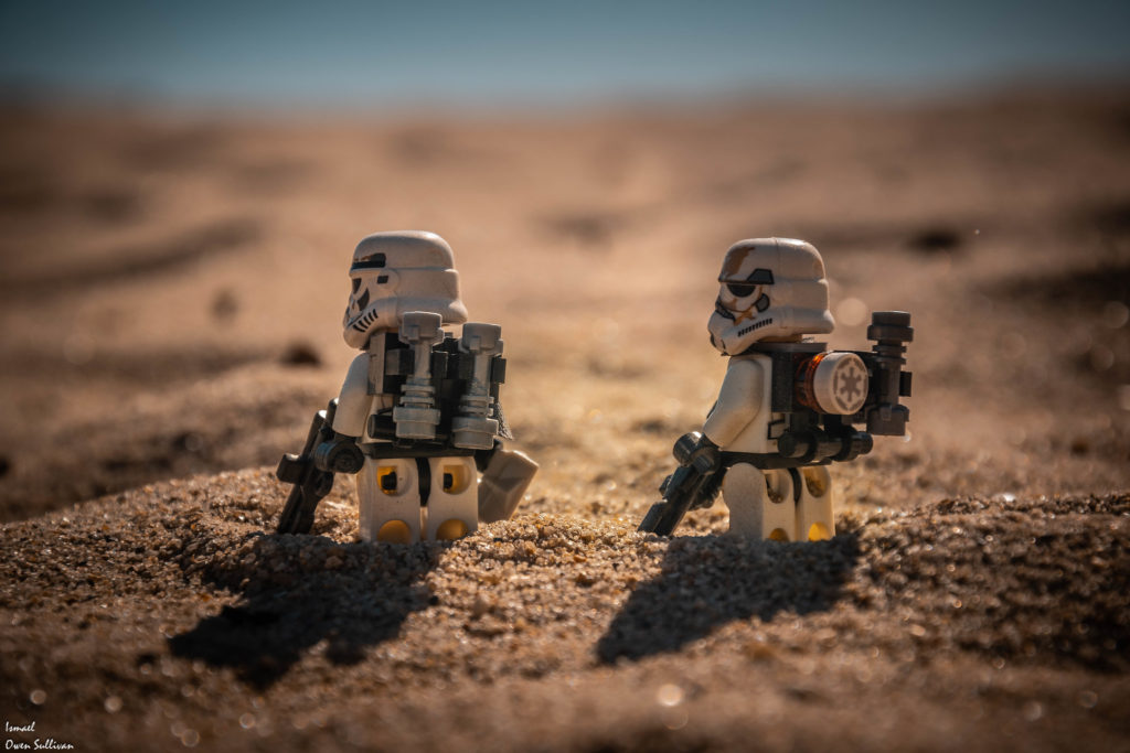 Brick Pic Of The Day Sandtrooper Patrol
