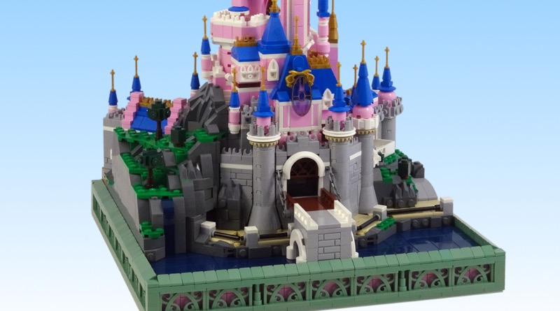 Brick Pic Of The Day Sleeping Beautys Castle Featured