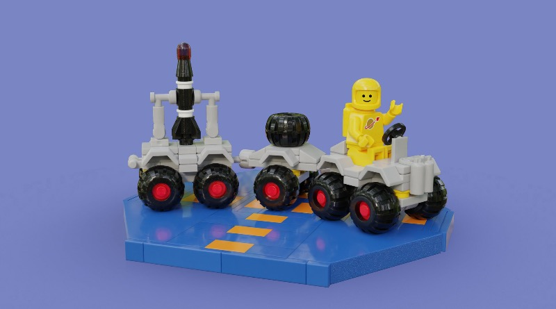 Brick Pic Of The Day Space Rover Featured