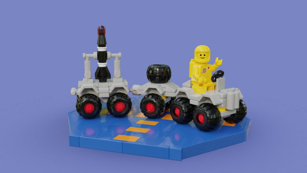 Brick Pic Of The Day Space Rover