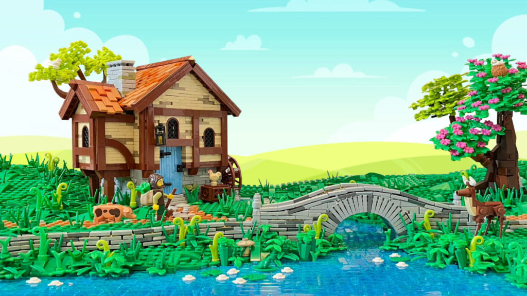 Brick Pic of the Day Spring Bridge