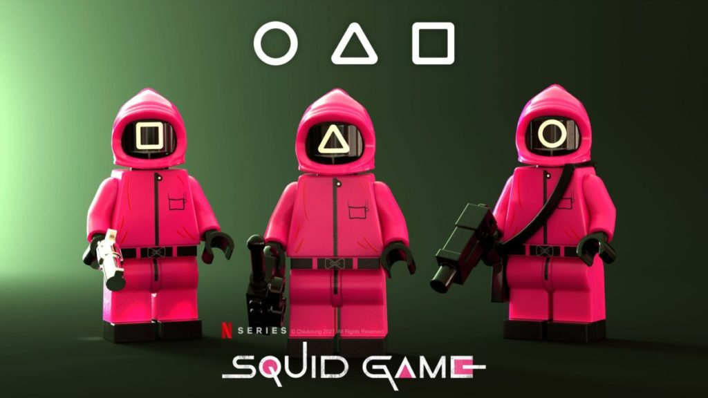 Brick Pic of the Day Squid Game