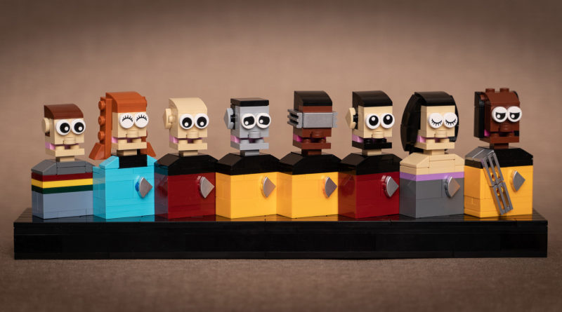 Brick Pic of the Day Star Trek featured