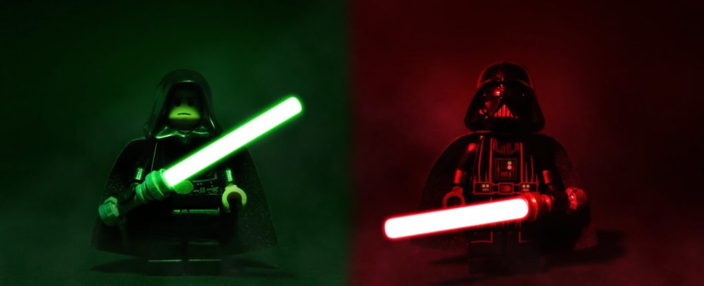 Brick Pic Of The Day Star Wars Lightsabers