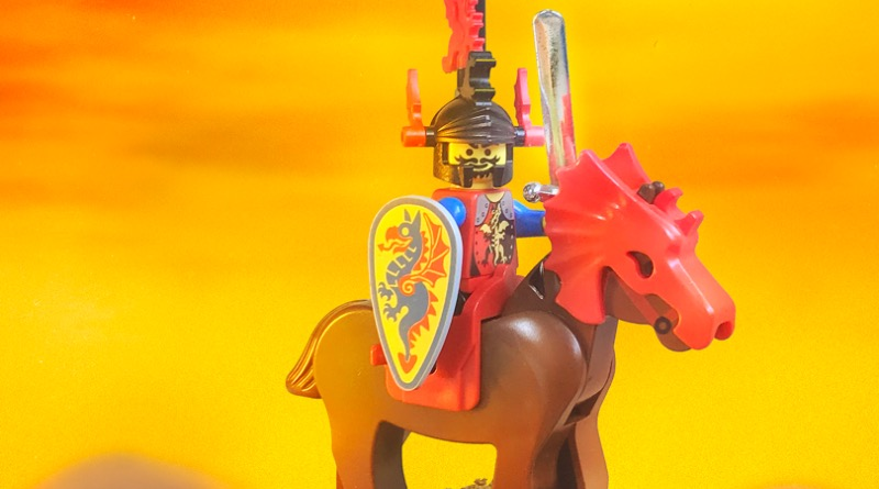 Brick Pic Of The Day Sunset Knight Featured