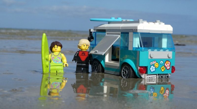 Brick Pic of the Day Surfers on the Beach featured