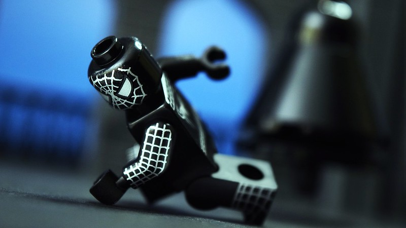 Brick Pic Of The Day Symbiotic Spider Man Featured