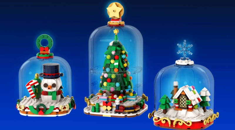Brick Pic Of The Day Winter Snow Globes Featured
