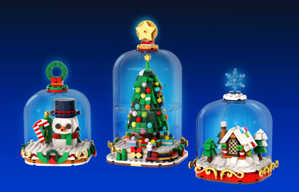 Brick Pic Of The Day Winter Snow Globes