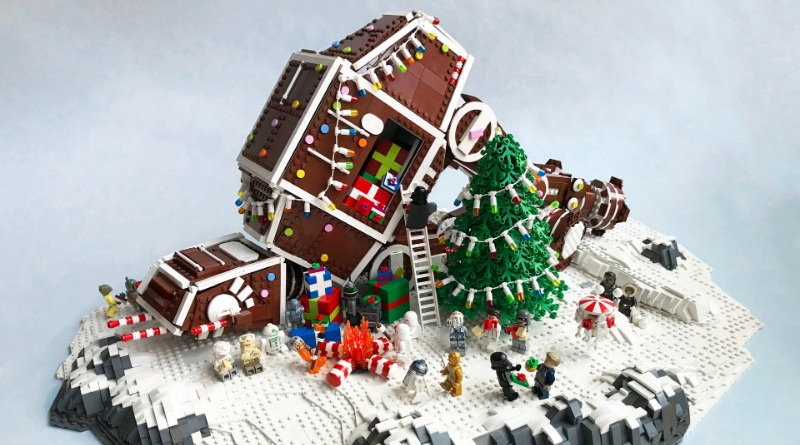 Brick Pic Of The Day Festive AT AT Featured