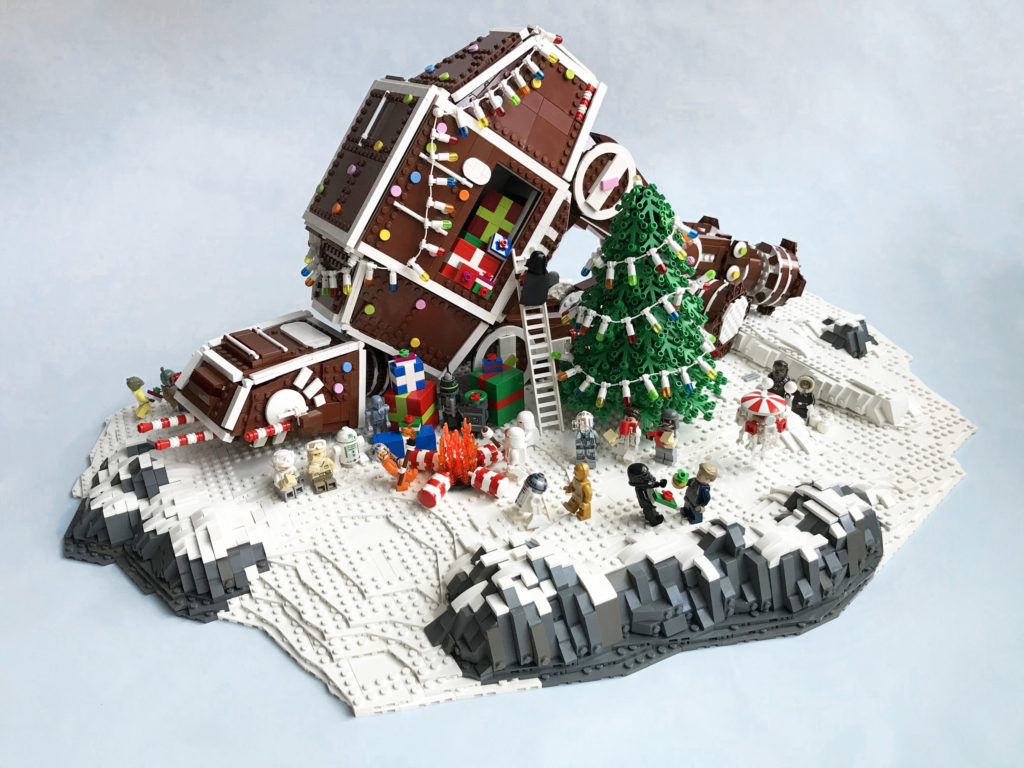 Brick Pic Of The Day Festive AT AT