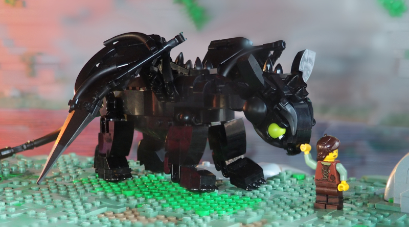 Brick Pic Of The Day  Dragon Featured