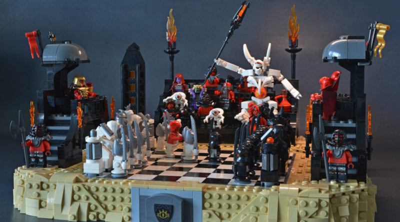 Brick Pic of the day a heated game of chess featured