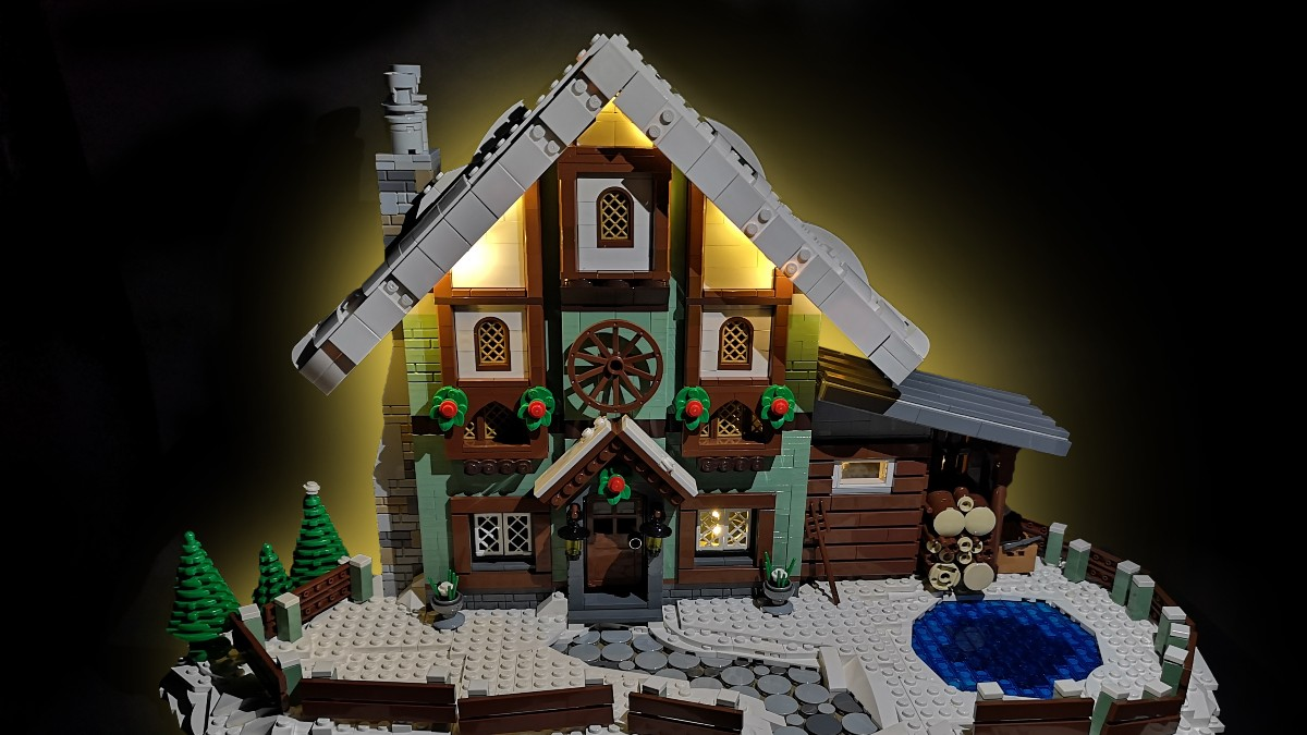Brick Pic Of The Day Winter Cottage Featured