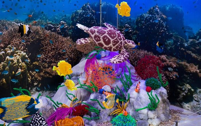 Brick Wonders Great Barrier Reef