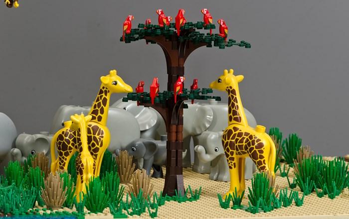 Brick Wonders Safari