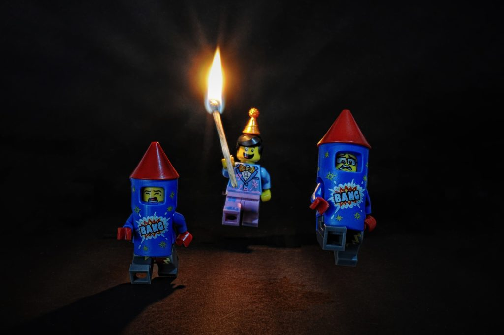 Brick Pic Of The Day Fireworks Full