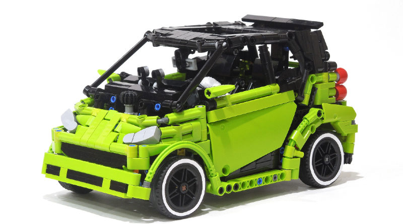 Brick pic of the day smart car featured