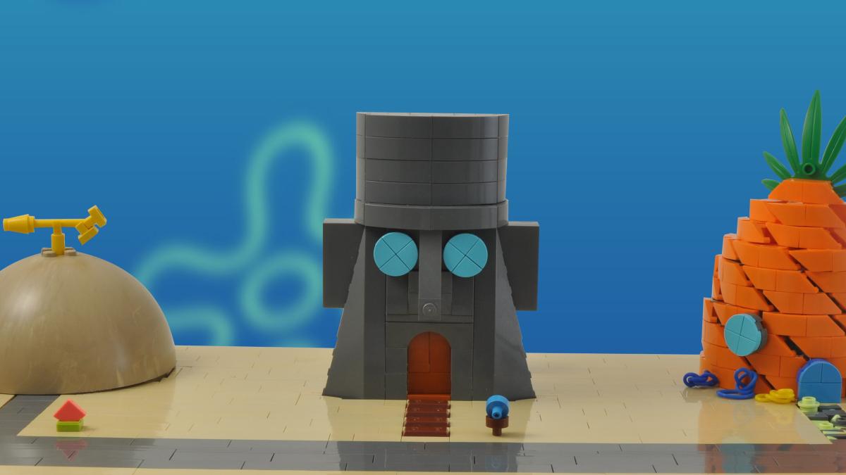 აგურის ფოტო დღის Spongebob რჩეული