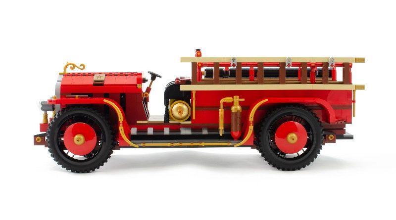 BrickLink AFOL Designer Program Antique Fire Engine featured