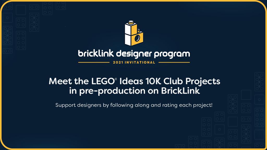 BrickLink Designer Program Banner