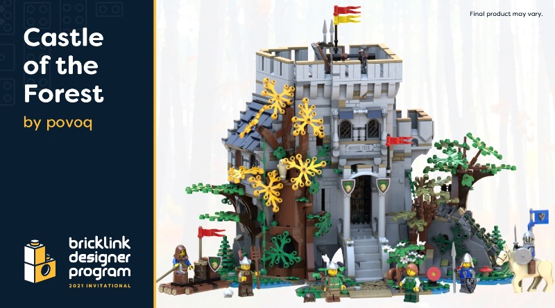 BrickLink Designer Program Castle Of The Forest Featured