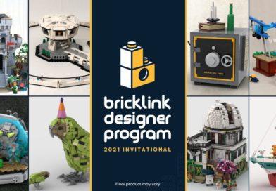 Four LEGO BrickLink Designer Program sets available now