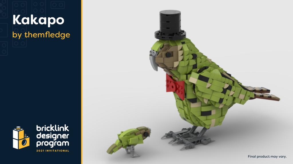 BrickLink Designer Program Kakapo